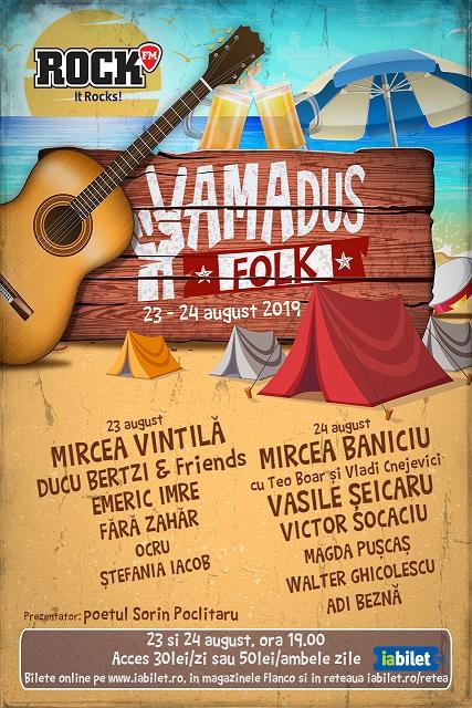 Afis Rock n Sat Vamadus Folk cu sponsori pentru IABILET